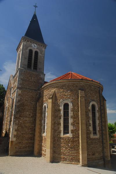 Eglise de la commune d'Assieu